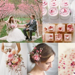 Inspiration for Cherry Blossoms spring wedding