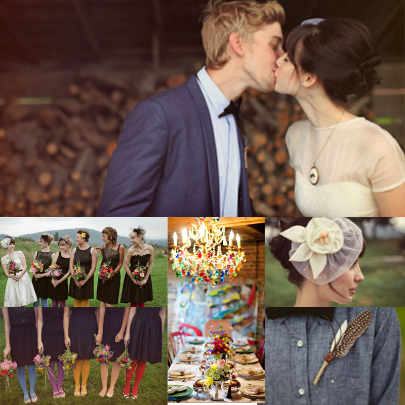 Colorful Wedding Inspiration 01