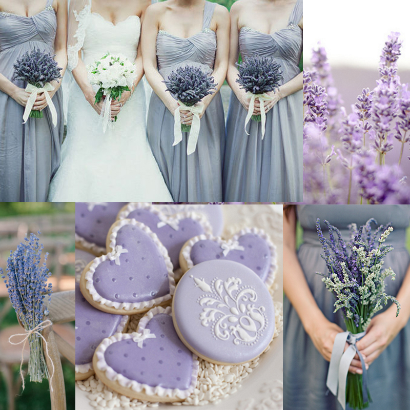Lavender wedding ideas 01<br />ラベンダーを使ったウェディングのアイディア 01
