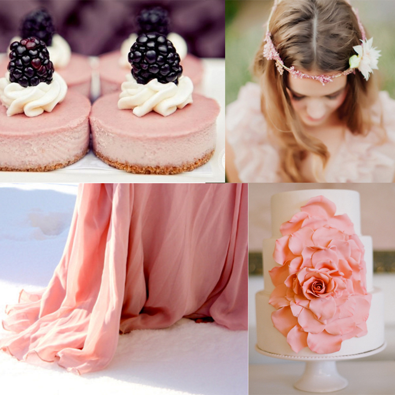 Inspiration for berrypink wedding