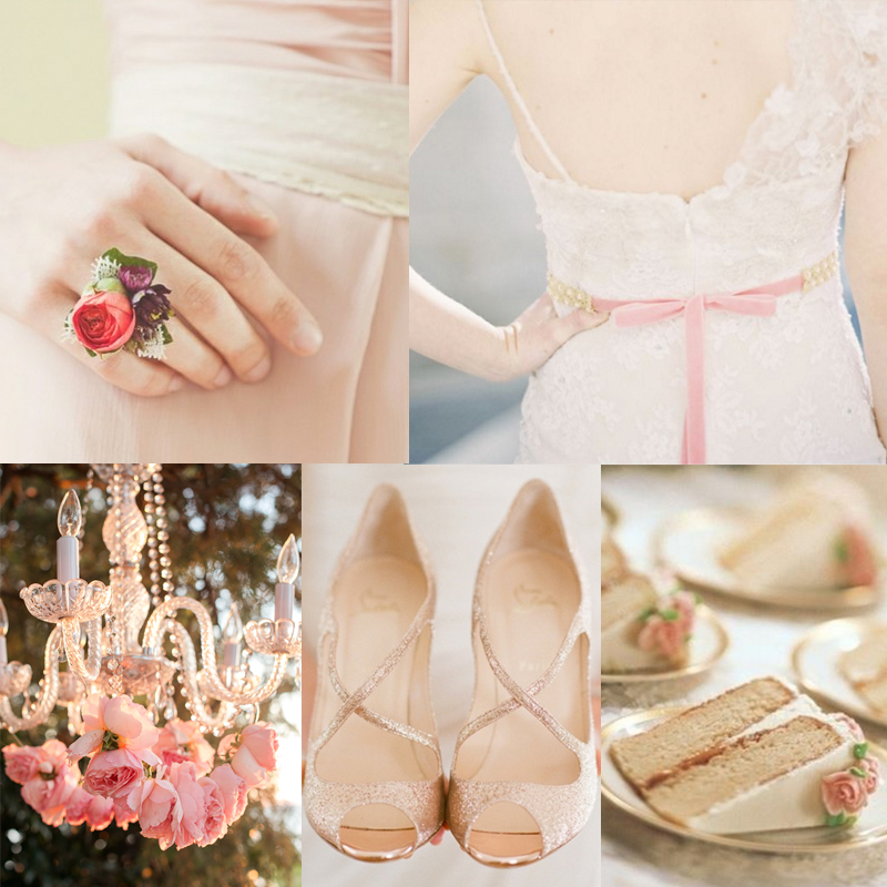 Inspiration for Romantic Blush Pink Wedding width=