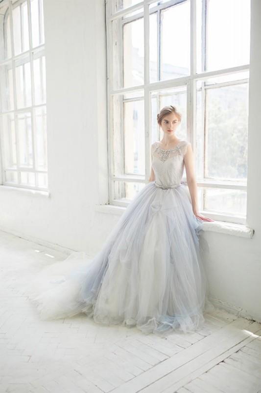 16  blue wedding dresses ideas13