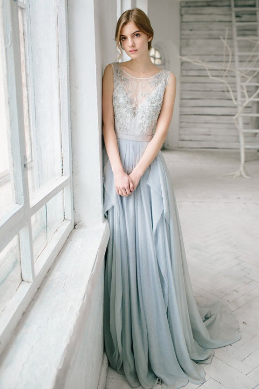 16  blue wedding dresses ideas14