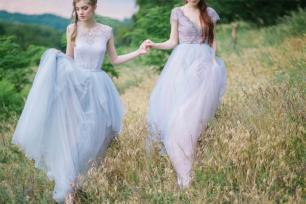 16  blue wedding dresses ideas15