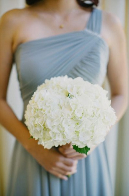 15 hydrangea wedding bouquets ideas1