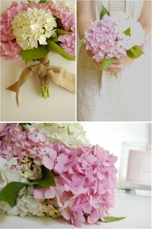15 hydrangea wedding bouquets ideas10