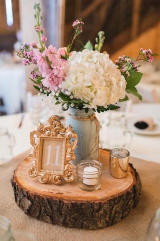 17 hydrangea wedding centerpiece ideas1
