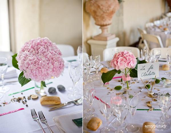 17 hydrangea wedding centerpiece ideas11