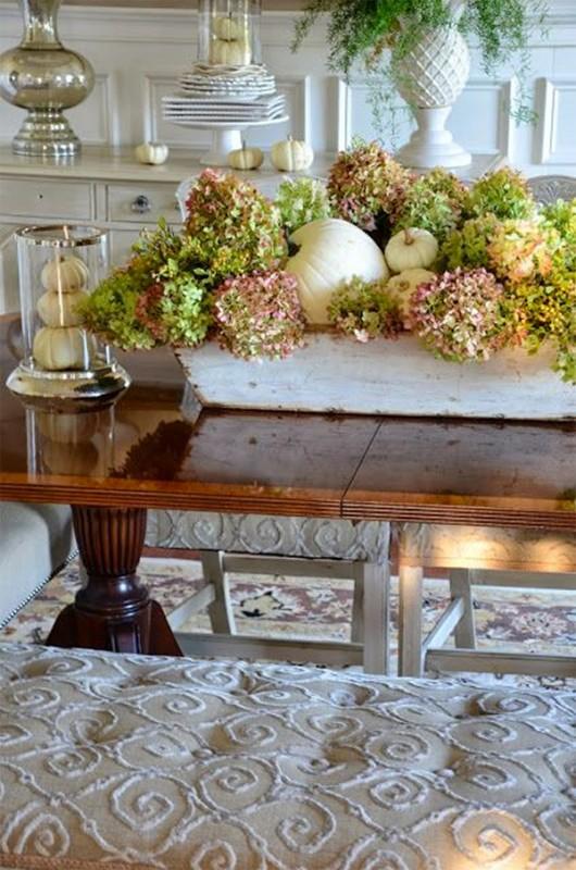 17 hydrangea wedding centerpiece ideas16
