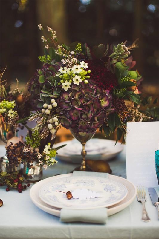 17 hydrangea wedding centerpiece ideas17