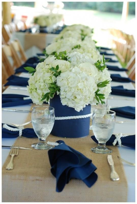 17 hydrangea wedding centerpiece ideas3