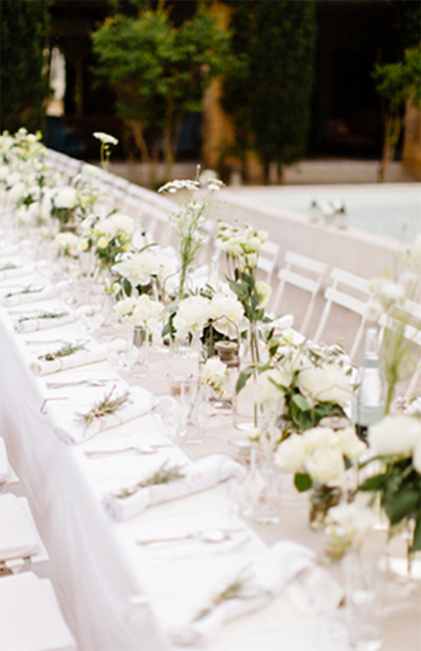 Inspiration for Elegance All White Wedding!15