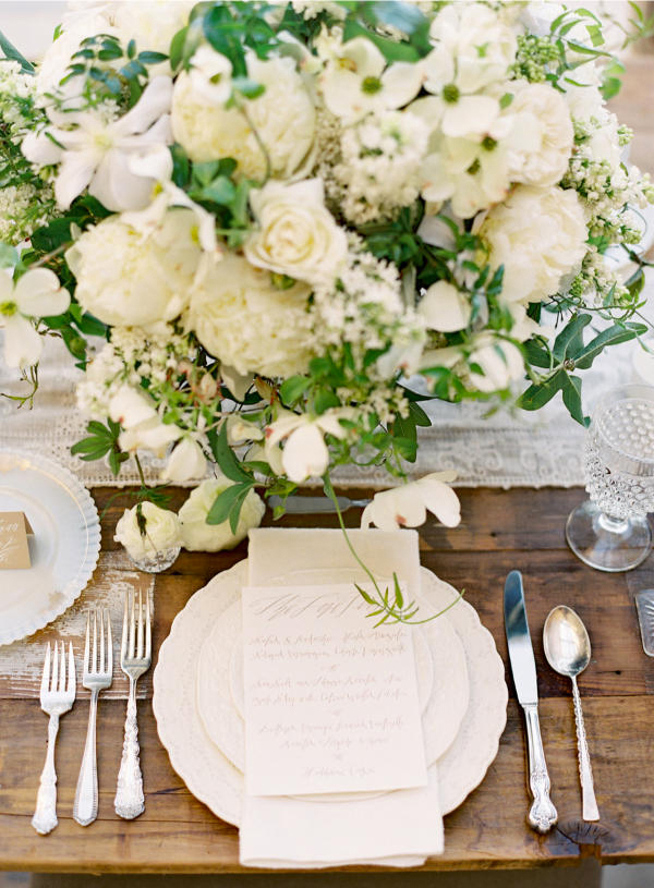 Inspiration for Elegance All White Wedding!16
