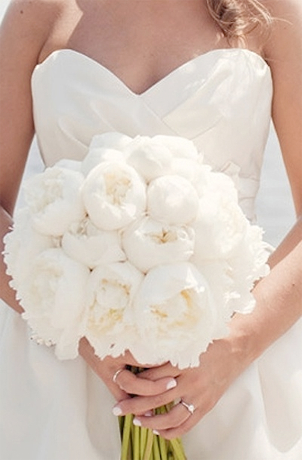 Inspiration for Elegance All White Wedding!2