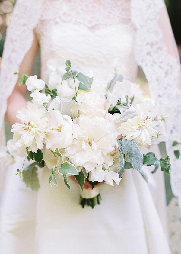 Inspiration for Elegance All White Wedding!8