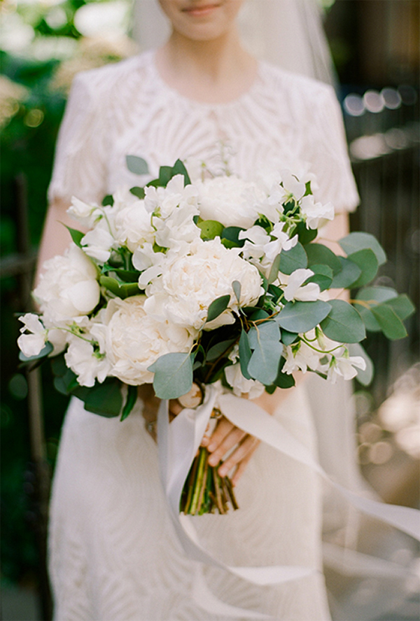 Inspiration for Elegance All White Wedding!9