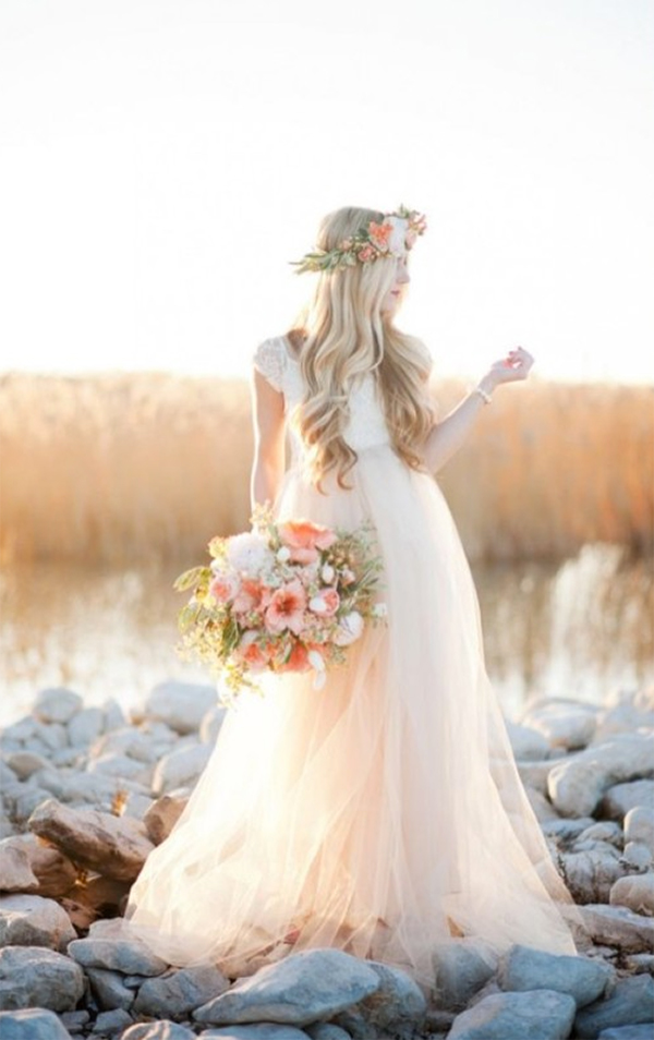 21  Blush Pink Wedding Dresses1