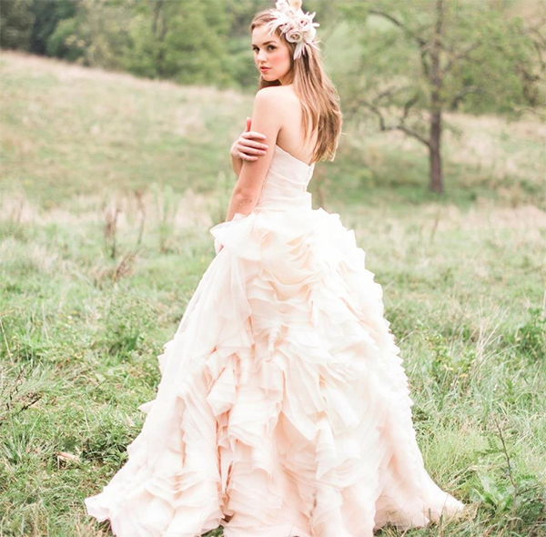 21  Blush Pink Wedding Dresses2