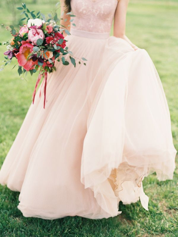 21  Blush Pink Wedding Dresses7