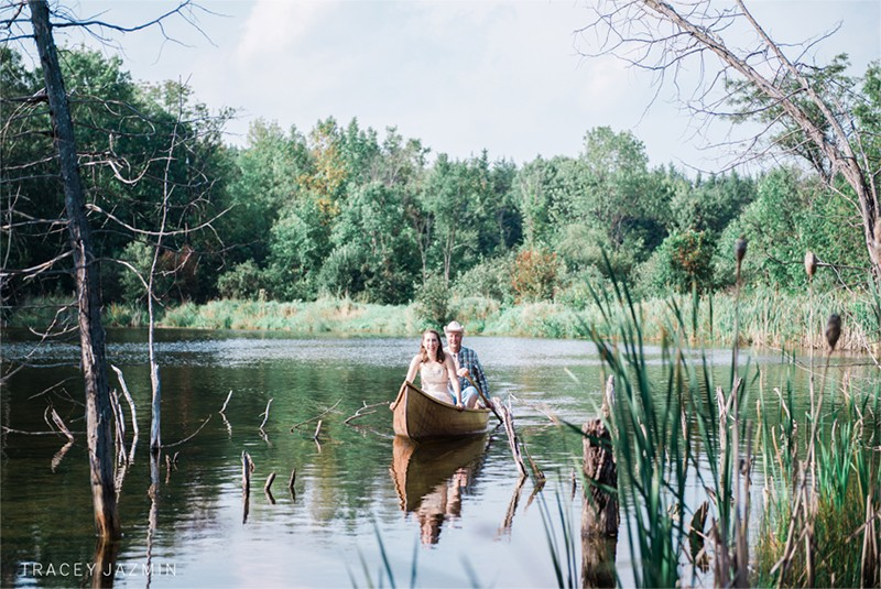 Cute Canoe Wedding Ideas <br />かわいいカヌーがテーマのウェディングのアイデア
