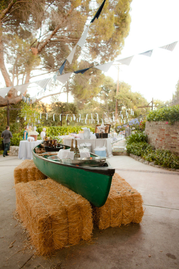 Romantic Canoe Wedding in Forest6