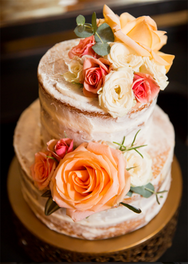 Coral,Orange & Gold wedding inspiration7