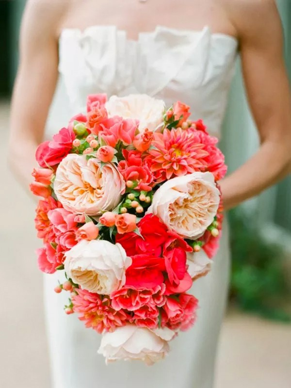 Cute Red and Pink Wedding Ideas3