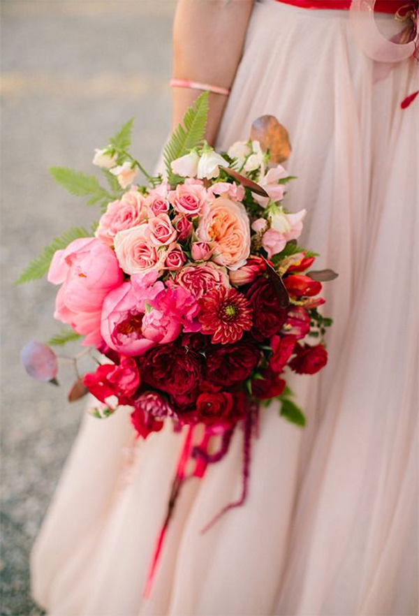 Cute Red and Pink Wedding Ideas4