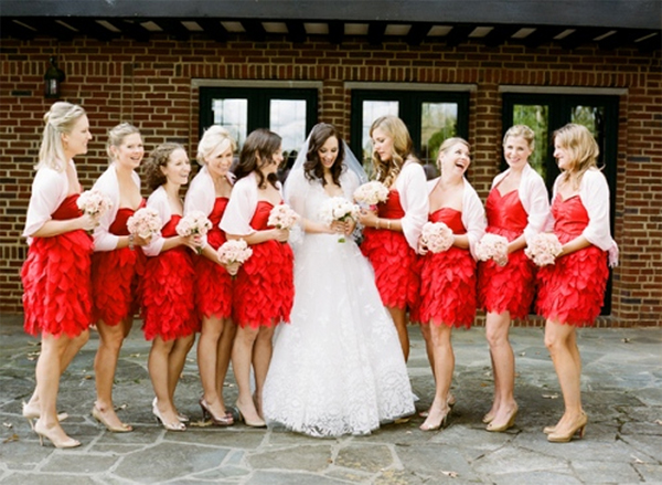 Cute Red and Pink Wedding Ideas6