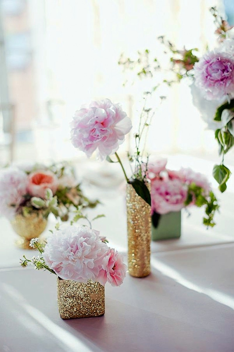 Inspiration for RosePink and Gold Glitter wedding10