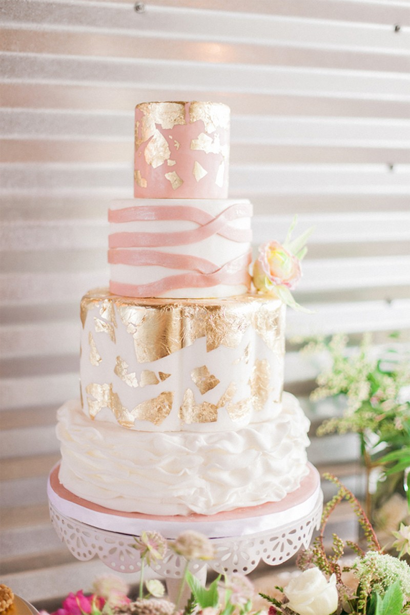 Inspiration for RosePink and Gold Glitter wedding9