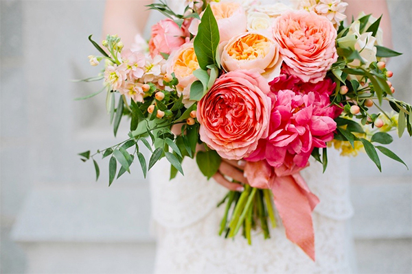 8 Romantic Summer Wedding Flowers