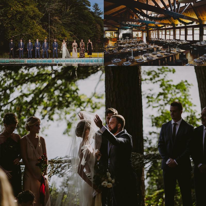 Ideas for beatiful summer camp wedding <br />美しい夏のキャンプウェディング