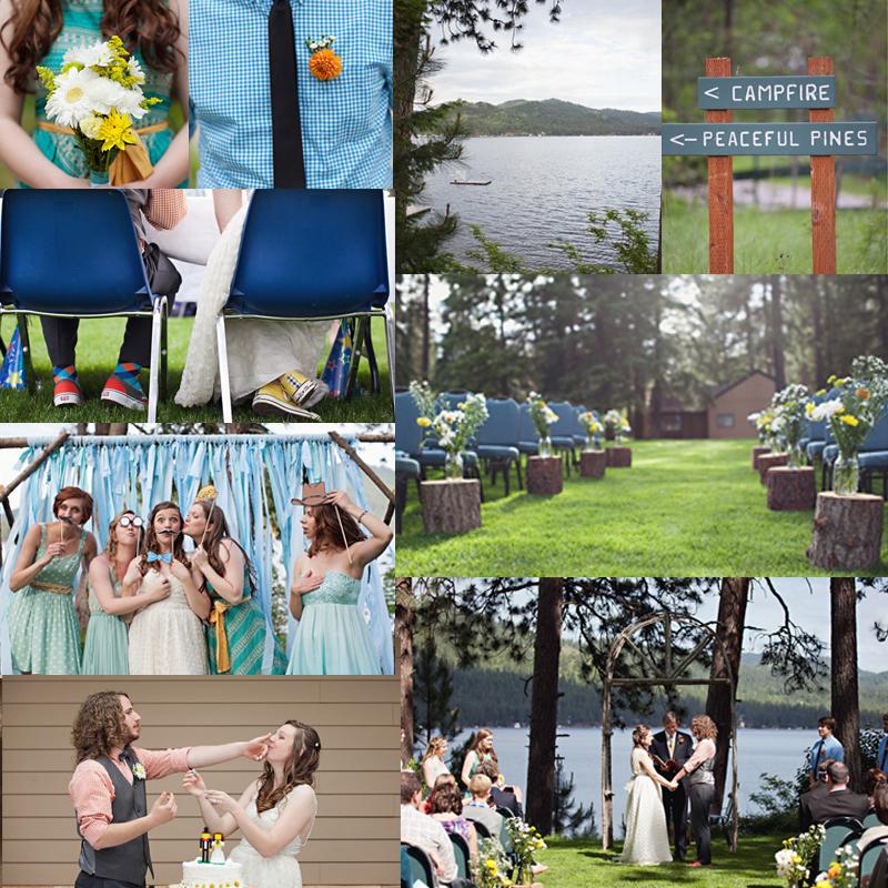 サマーキャンプウェディングの実例 5選<br />5 Ideas for Summer Camp wedding