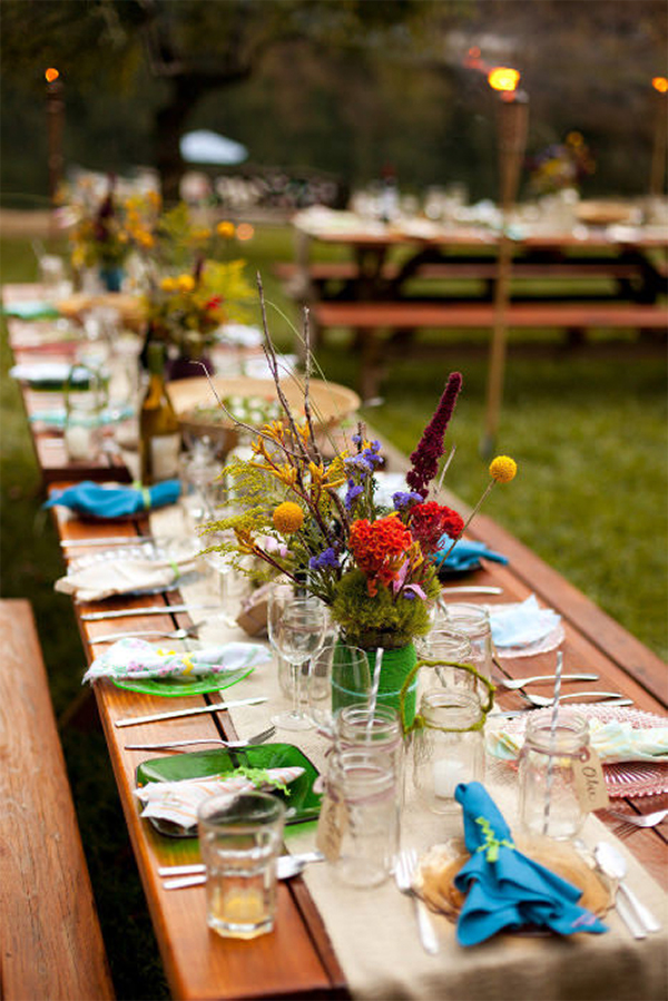 40 Cute and Fun Camp Wedding Ideas!25