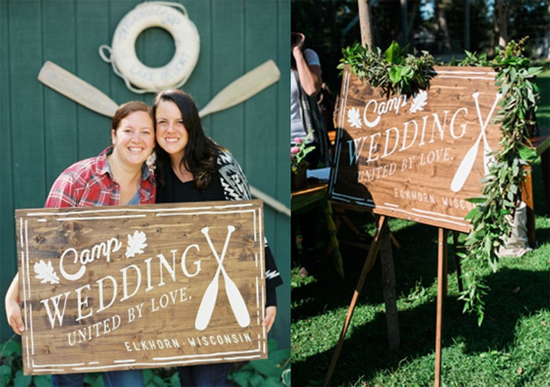 40 Cute and Fun Camp Wedding Ideas!37