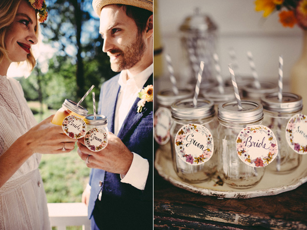 Inspiration for Chic and Vintage picnic wedding in early autumn5