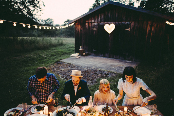 Inspiration for Chic and Vintage picnic wedding in early autumn8