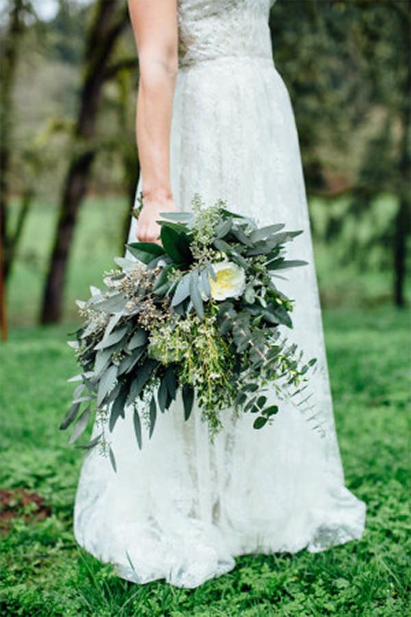 Inspiration for Fresh green botanical and boho summer wedding1