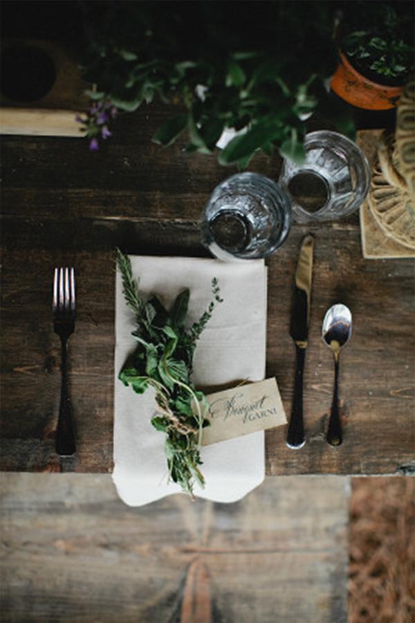 Inspiration for Fresh green botanical and boho summer wedding4