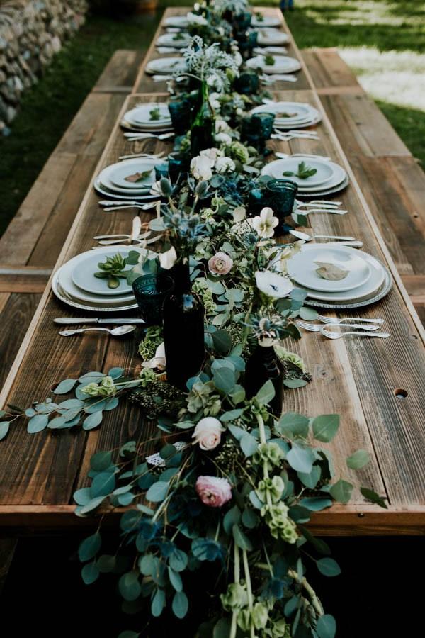 Inspiration for Fresh green botanical and boho summer wedding5