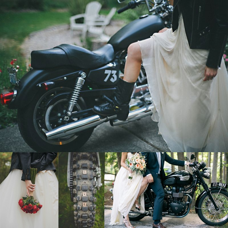 20 leather jacket with wedding dress ideas