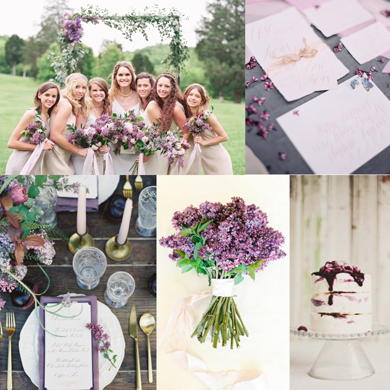 フレンチスタイルのライラックを使ったウェディング20<br />20 Inspiration for french style with lilac wedding