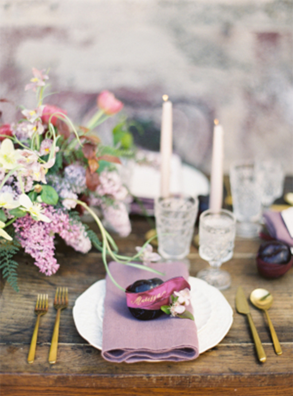 30 Inspiration for french style with lilac wedding10