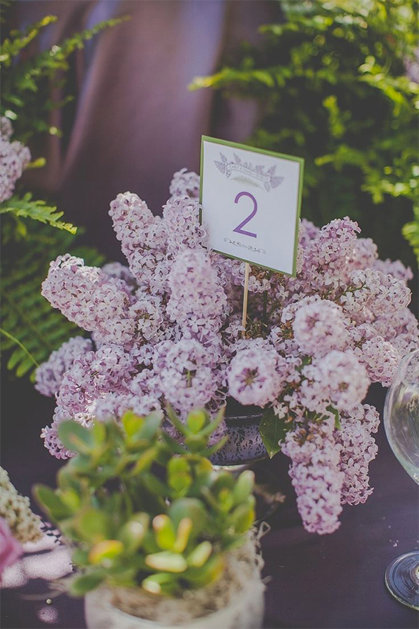 30 Inspiration for french style with lilac wedding11