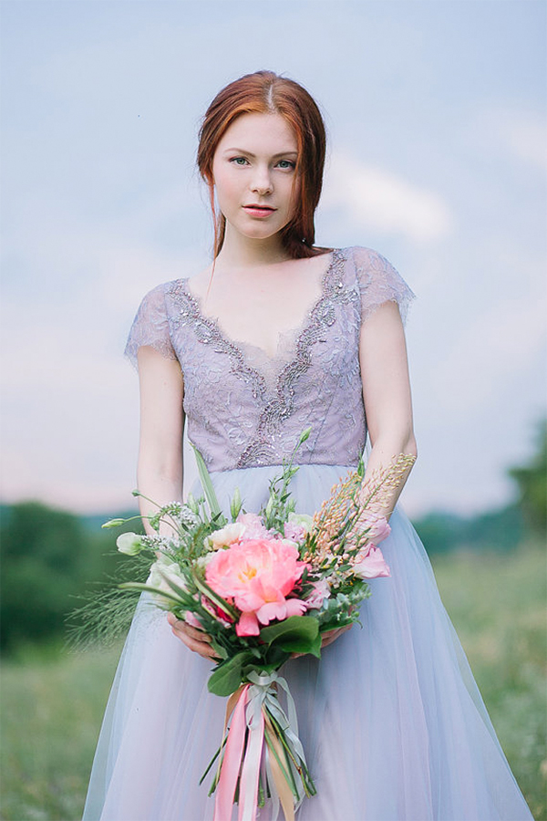 30 Inspiration for french style with lilac wedding14