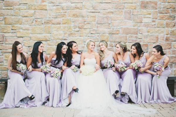30 Inspiration for french style with lilac wedding15
