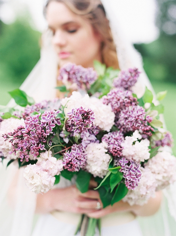 30 Inspiration for french style with lilac wedding5