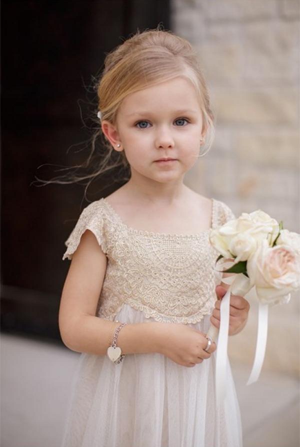 13 Romantic Champagne Wedding Dresses14