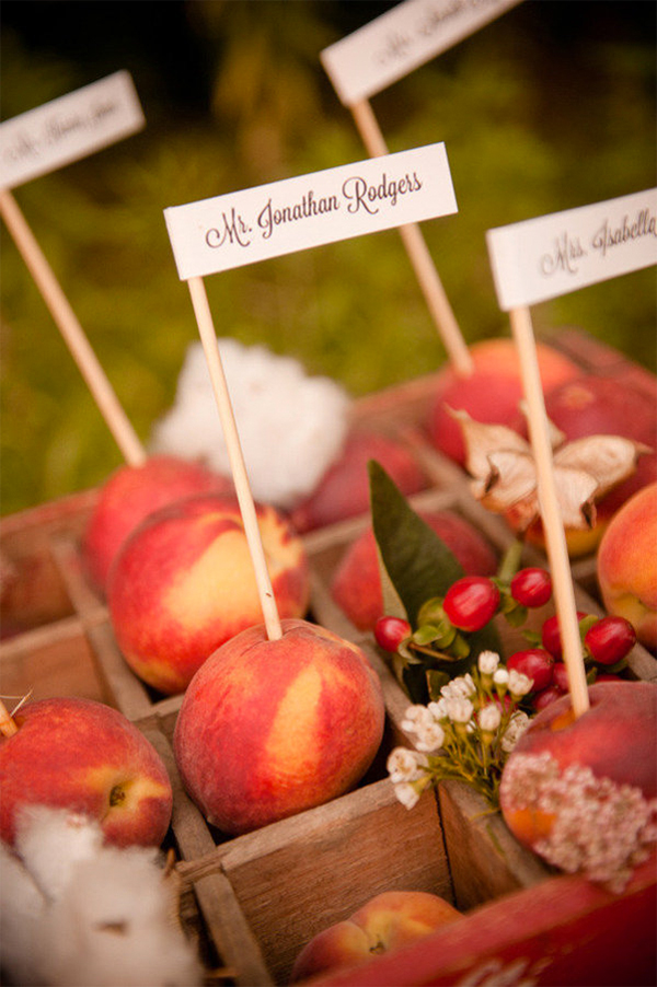 Inspiration for a Fresh peach summer wedding13